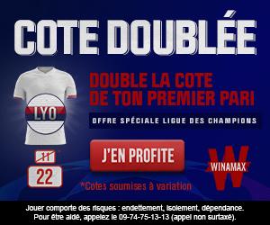 Cote boostée Ligue des Champions Winamax