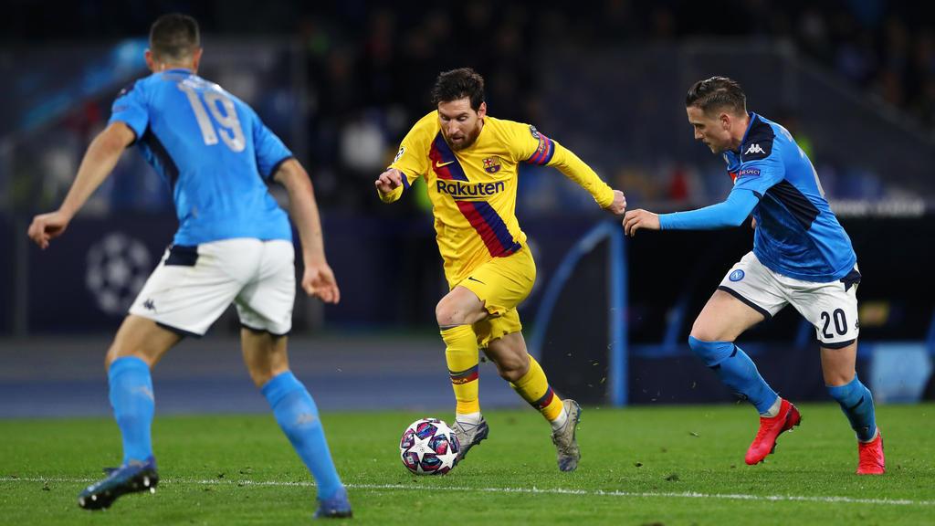 Pronostic Gratuit Barcelone Naples Ligue des Champions