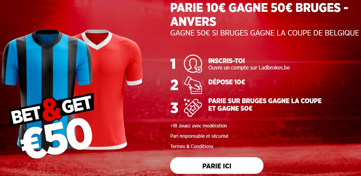 Coupe de Belgique Bruges Antwerp