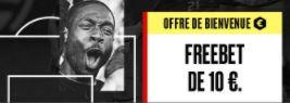 PokerStars Sports : 10€ de freebet sans dépôt pour toute inscription !