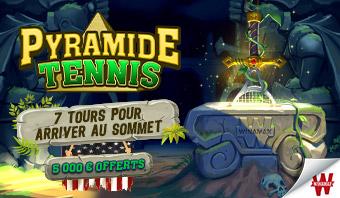 Pyramide US Open : Jusqu'à 5 000€ à gagner sur Winamax !