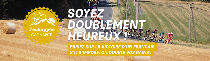 PMU Tour de France double vos gains échappée belle français